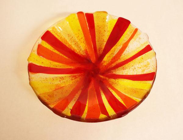"Glasmalerei - Fusing bowl ""Yellow"""