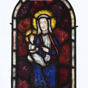 Glasmalerei Bleiverglasung Hl. Maria