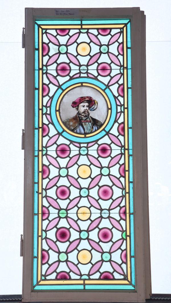 Glasmalerei Bleiverglasung Ornament