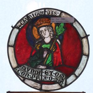 Glasmalerei Bleiverglasung Heiligendarstellung