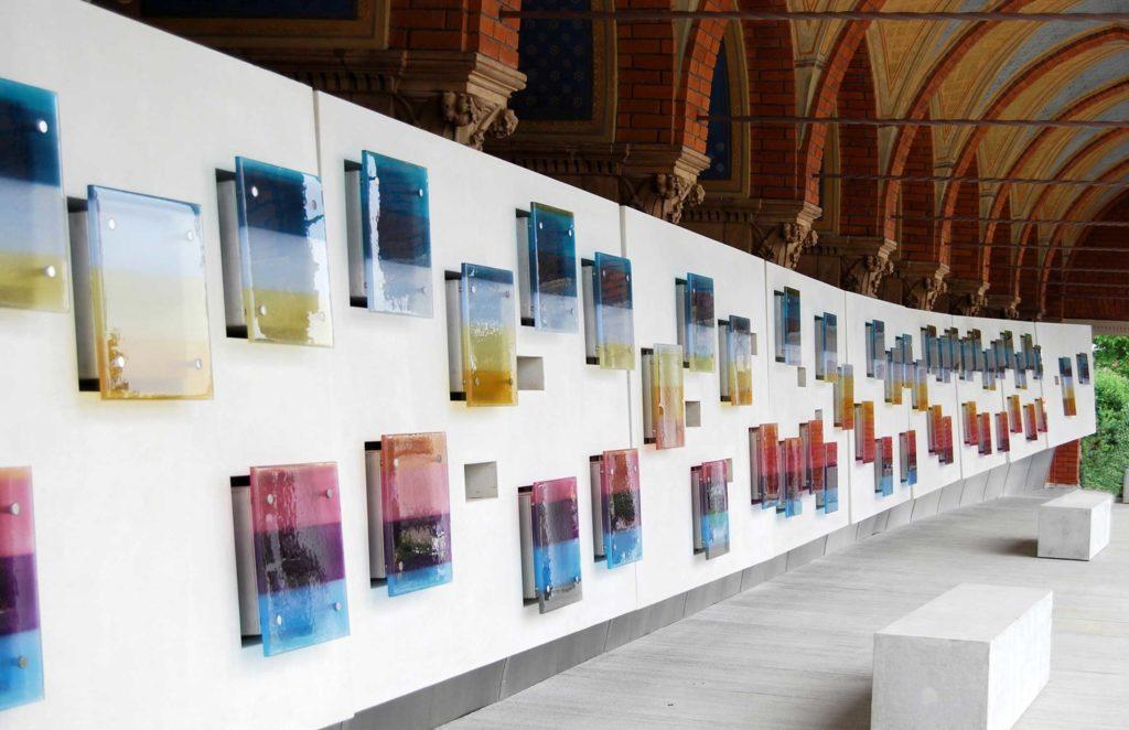 Glasmalerei Stift Schlierbach Architektur 2