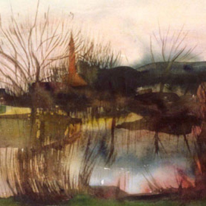 Glasmalerei Stift Schlierbach - Bilger - Aquarell