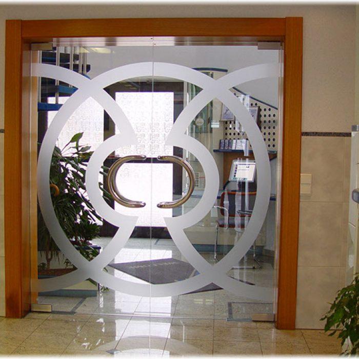 Bauverglasung Türen 1