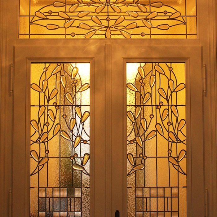 Privat Zierverglasung Eingangsbereich