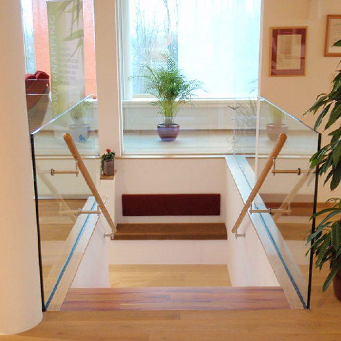 Bauverglasung Geländer 5