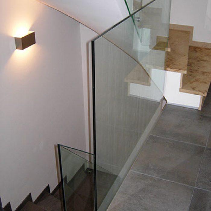 Bauverglasung Geländer 8