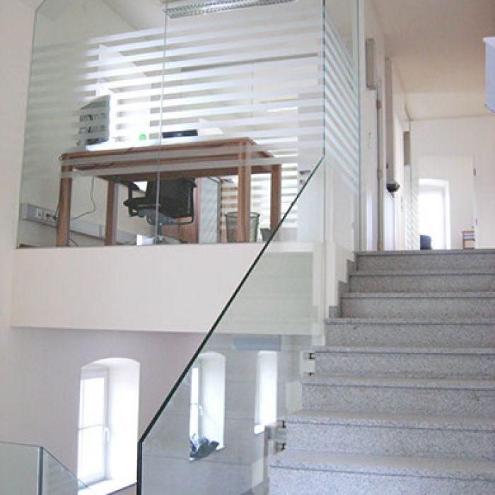 Bauverglasung Geländer 7