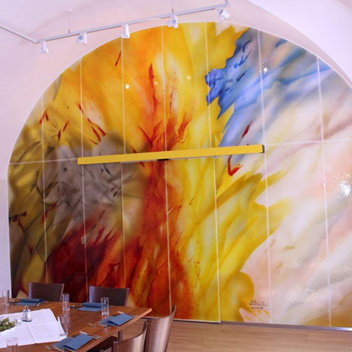 Glaswand mit Schiebetür St. Georgen am Längsee 2