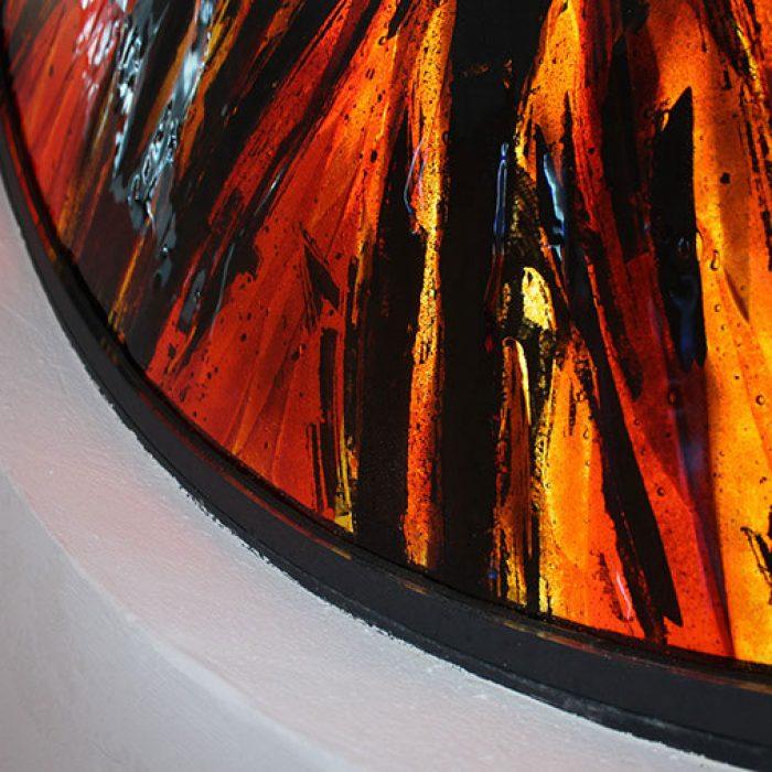 Fenstergestaltung Schmelztechnik Ampflwang 2