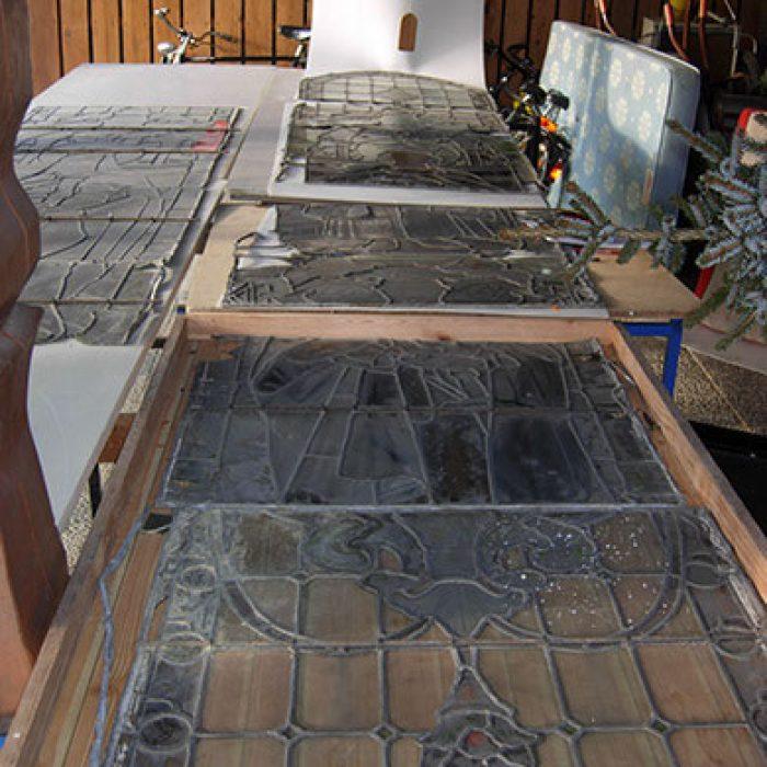 Stammham Passau Restaurierung neugotische Fenster 2
