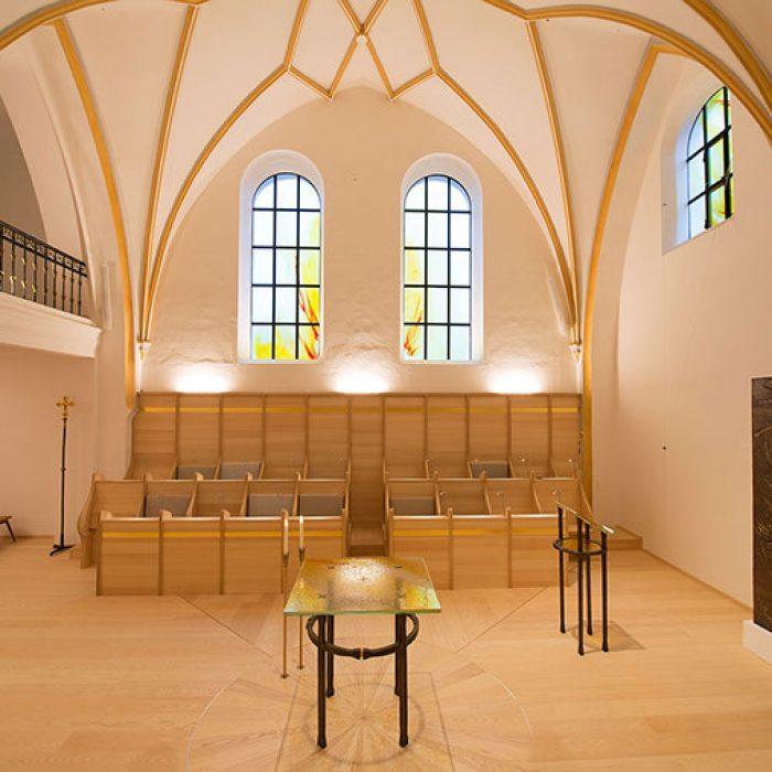 Chorkapelle Frauenwoerth am Chiemsee Schmelztechnik 5