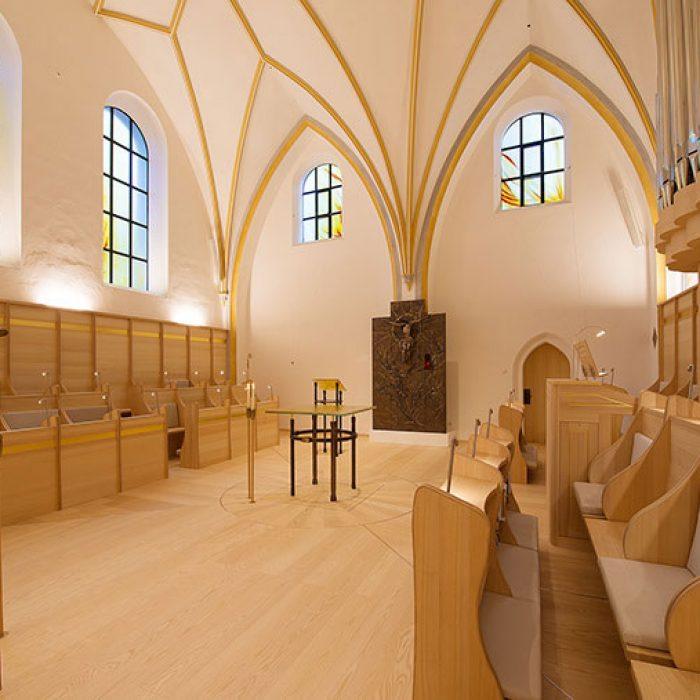 Chorkapelle Frauenwoerth am Chiemsee Schmelztechnik 4