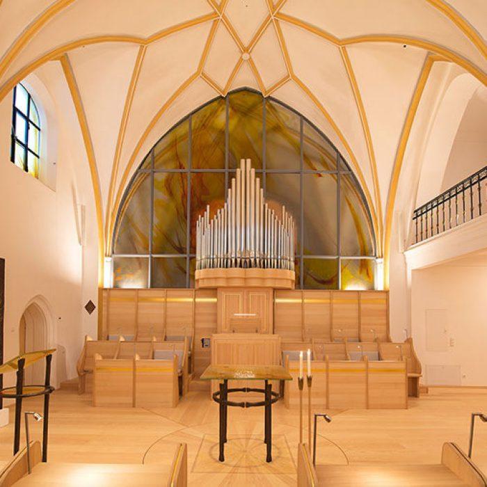 Chorkapelle Frauenwoerth am Chiemsee Schmelztechnik 3